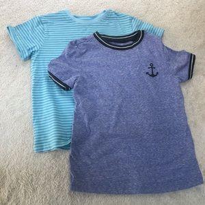 Old Navy/Gap boys 5T short sleeve T-shirt's